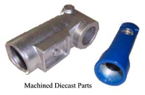 Machined Diecast Parts