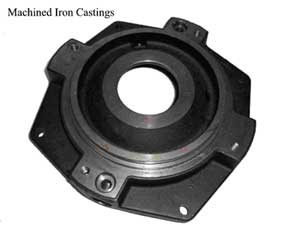 Machined Iron Castings