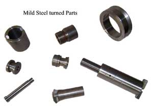 Mild Steel Turned Parts