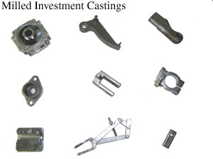 Milled Investment Castings