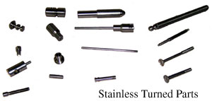 Stainless Turned Parts