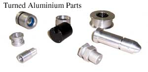 Turned Aluminum Parts