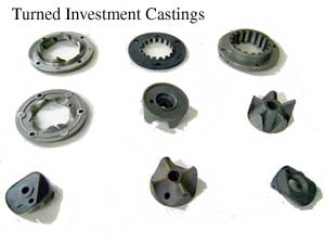 Turned Investment Castings